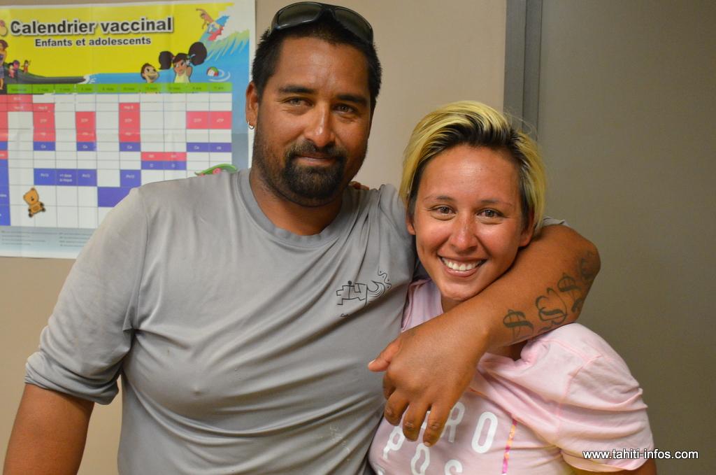 Laurent et Meherio, sains et saufs, racontent leurs sept jours de dérive