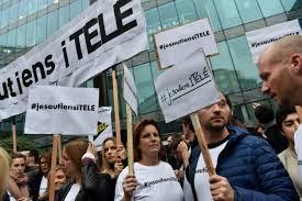 iTELE: les grévistes jettent l'éponge, la rédaction exsangue