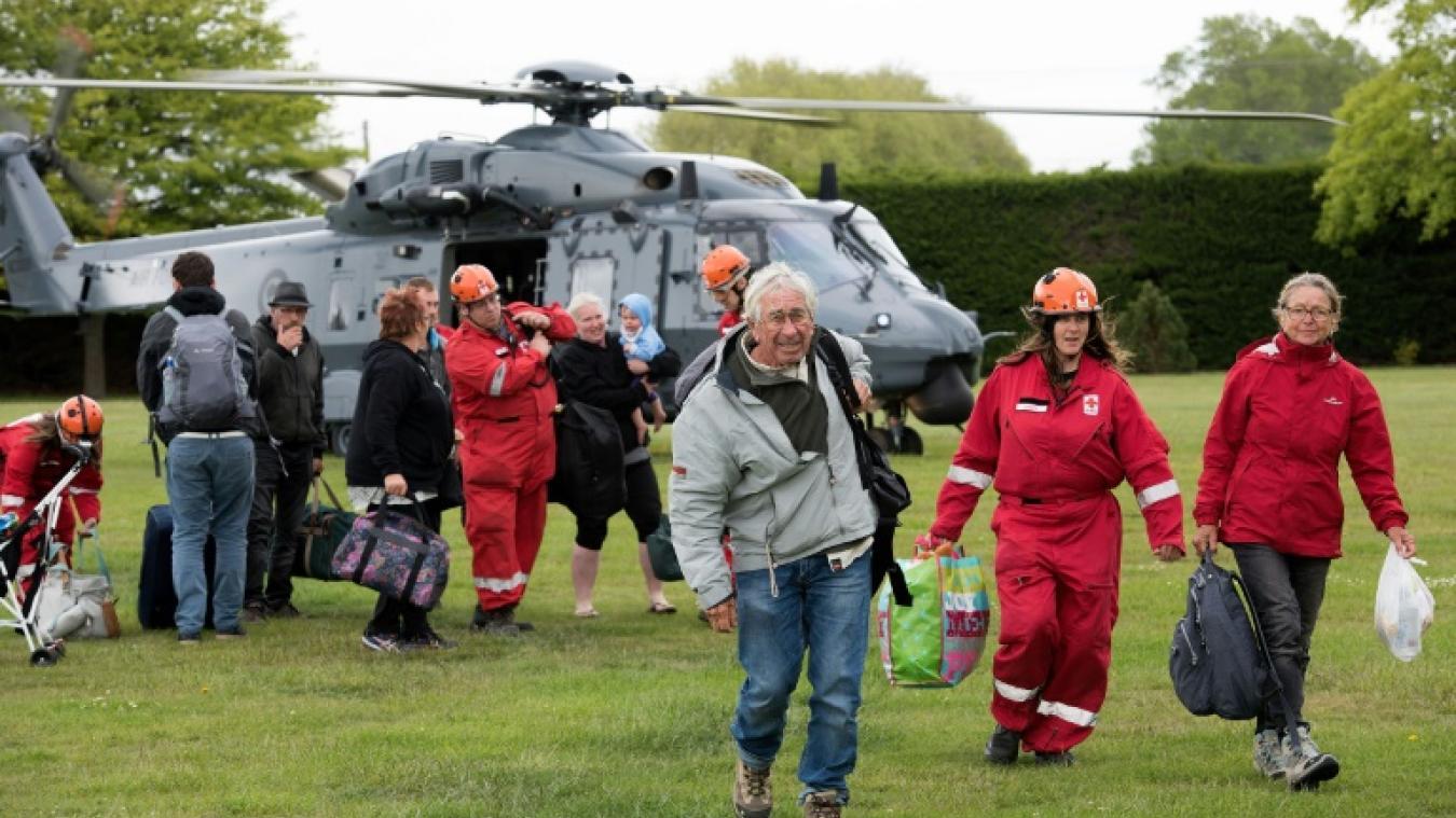 Les touristes piégés par le séisme néo-zélandais ont été évacués