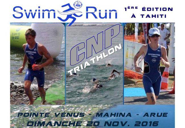 Event : La 1ère édition de la Swim & Run Tahiti ce dimanche 20 novembre !