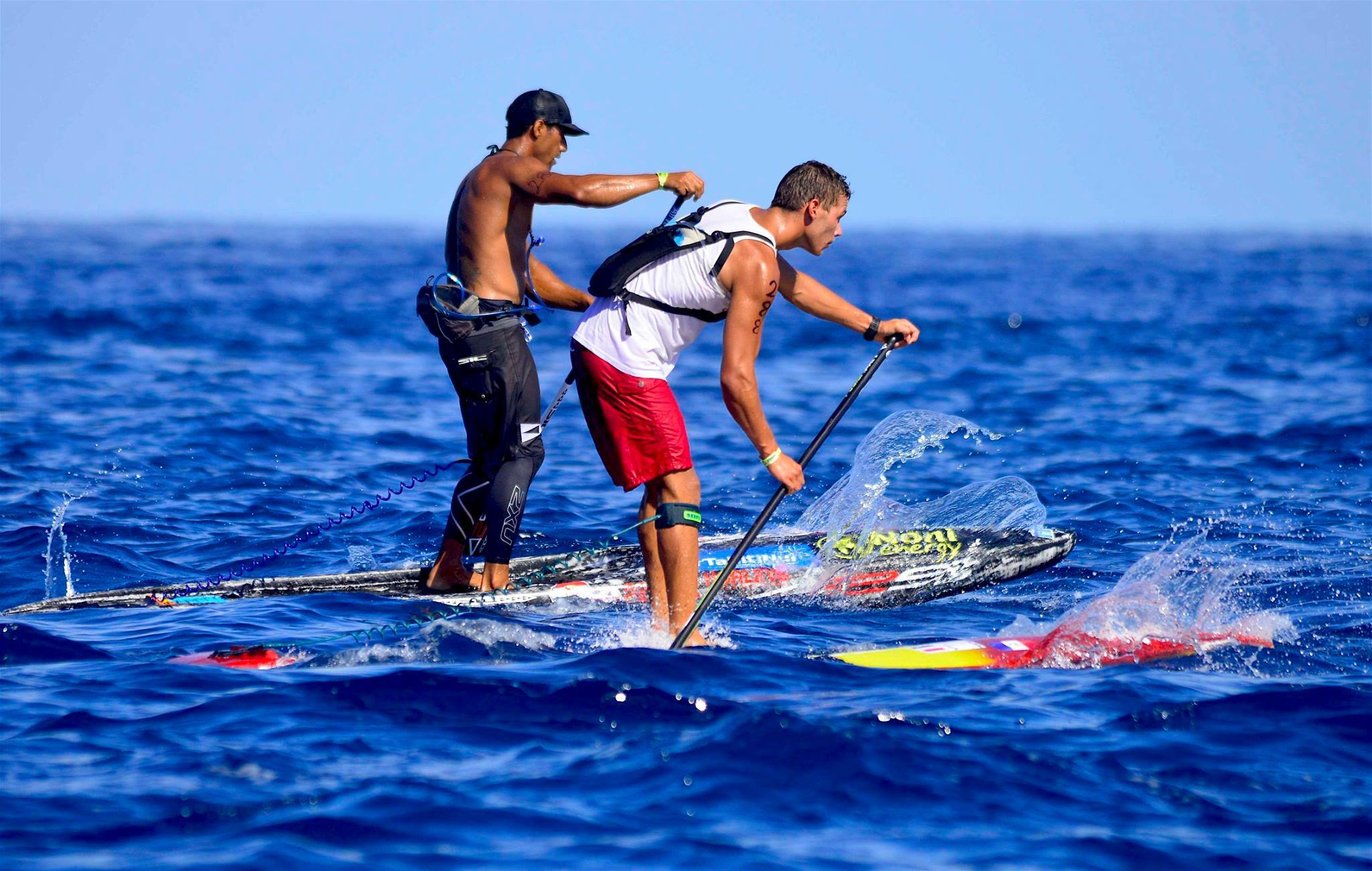 SUP « Fiji ISA World Championship » : Georges Cronsteadt sur le podium
