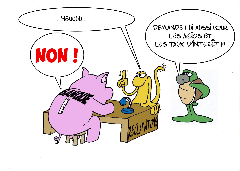 """"""" Les banques """" par Munoz"""