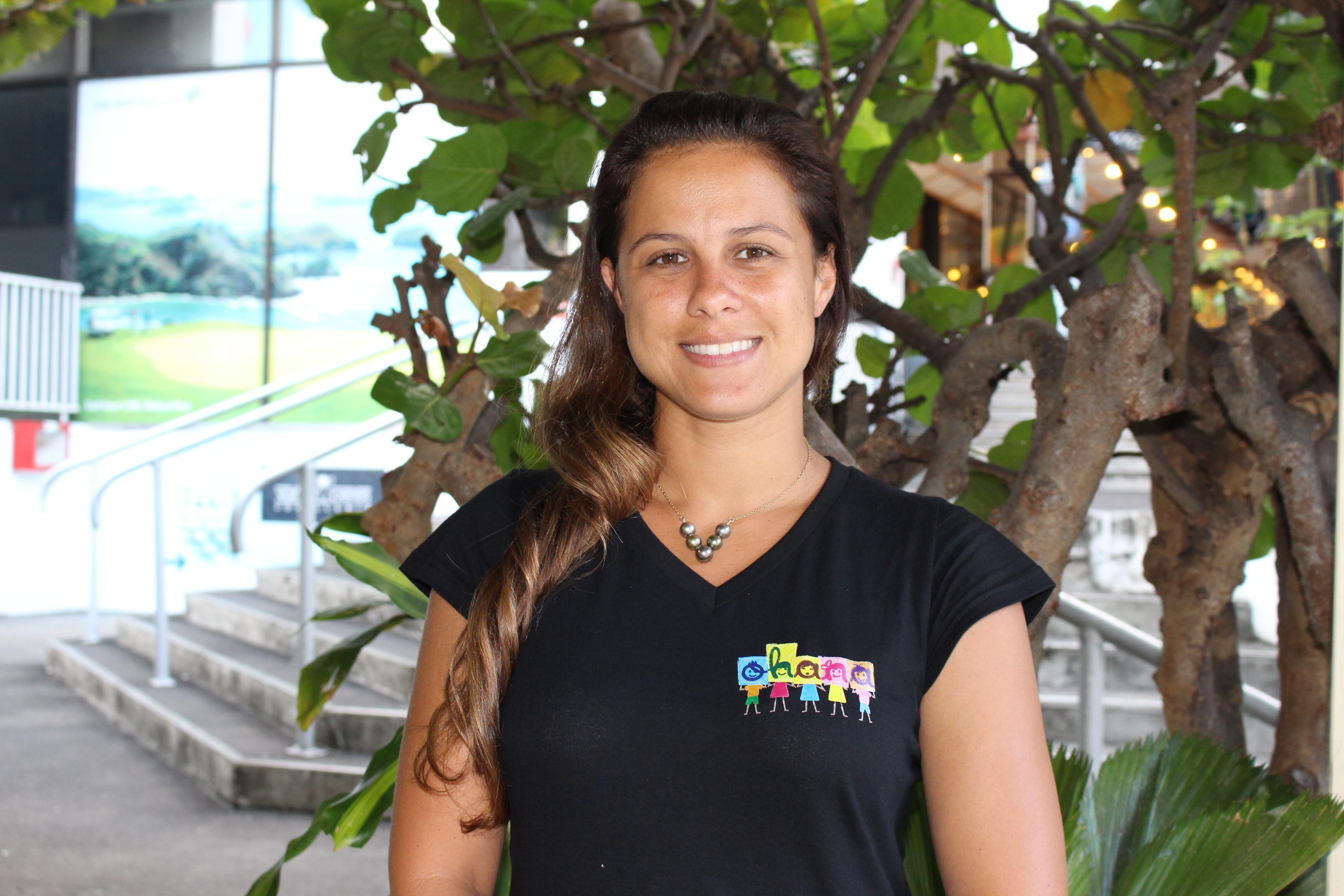 Natalia Germain, fondatrice du collectif Ohana Tahiti.