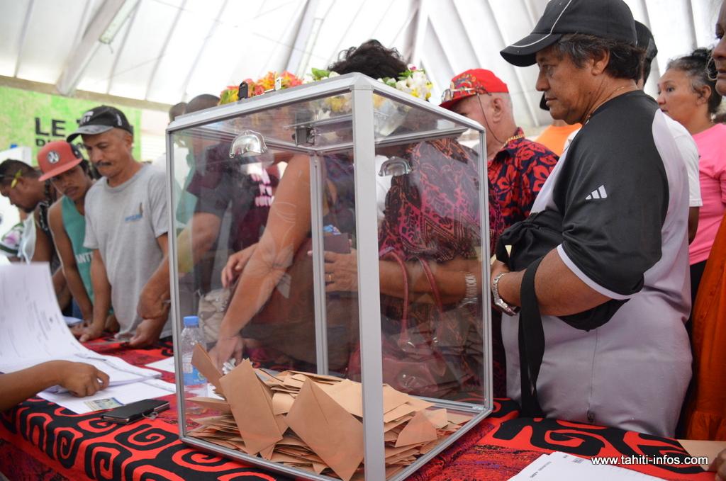 Primaire à droite : les résultats détaillés du premier tour en Polynésie