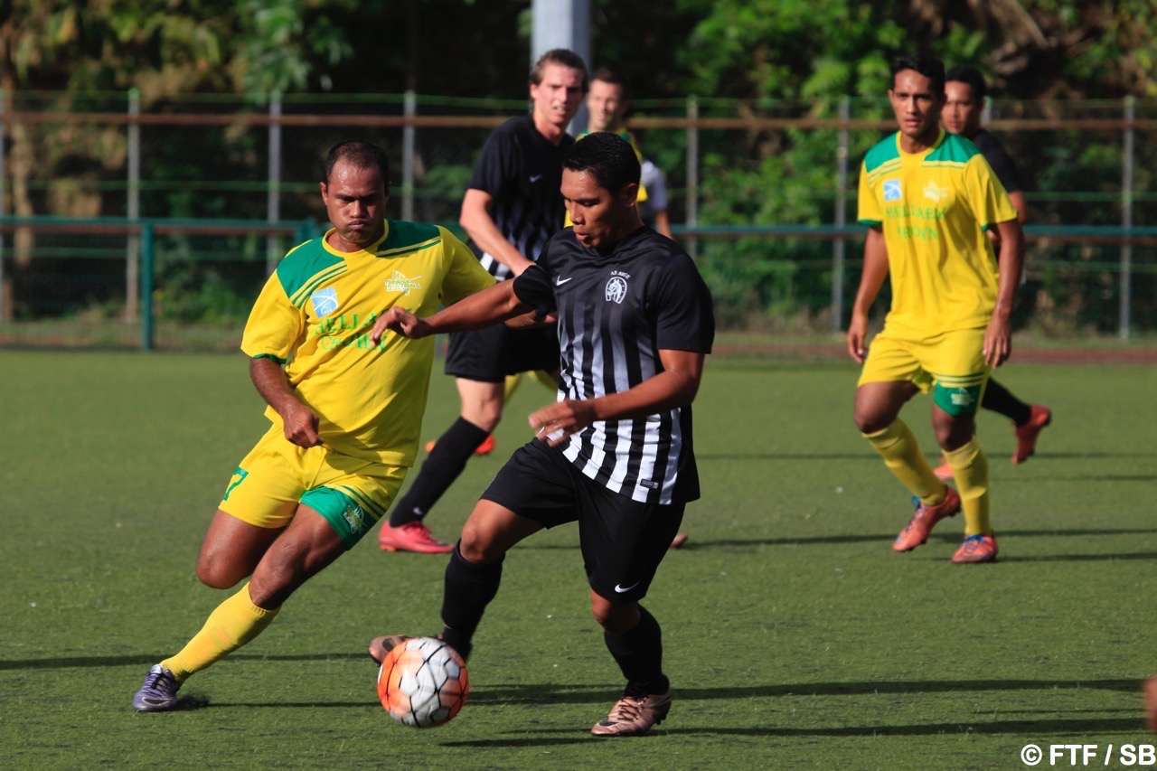 Temarii Tinorua, le n°7 de Tefana est le 2e meilleur buteur du championnat de Ligue 1