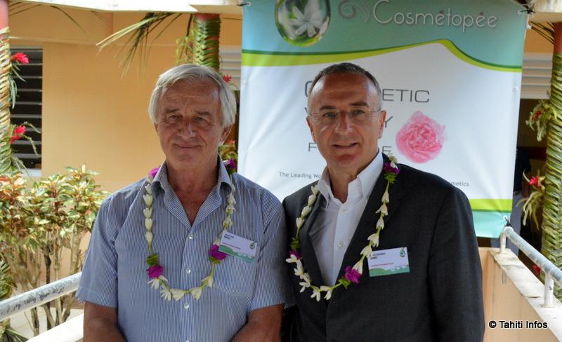 Jean-Luc Ansel et Marc-Antoine Jamet, qui dirigent Cosmetic Valley