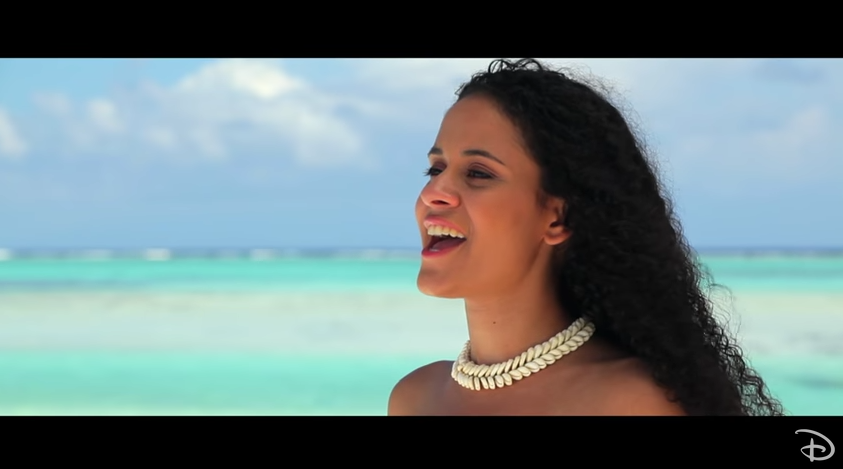 Le clip de la chanson du film Vaiana