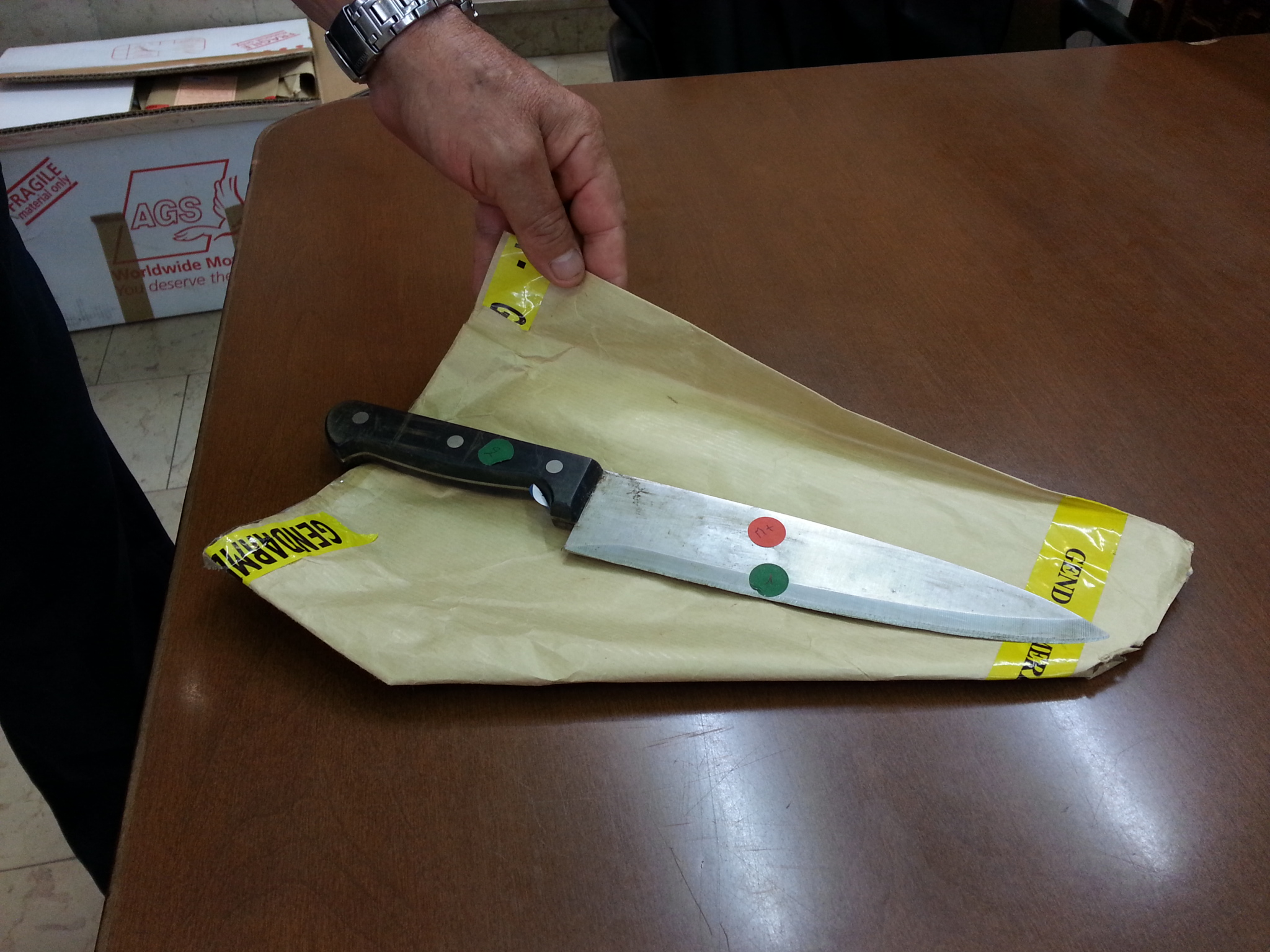 La victime du premier dossier jugé par les jurés avait succombé à un coup de couteau mortel à l'abdomen. (Archives)