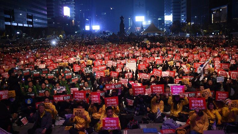 Corée du Sud: Plus d'un million de manifestants contre la présidente
