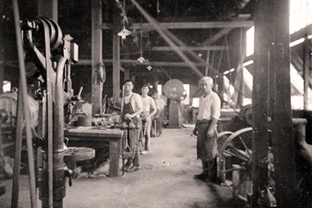 La forge vers 1925