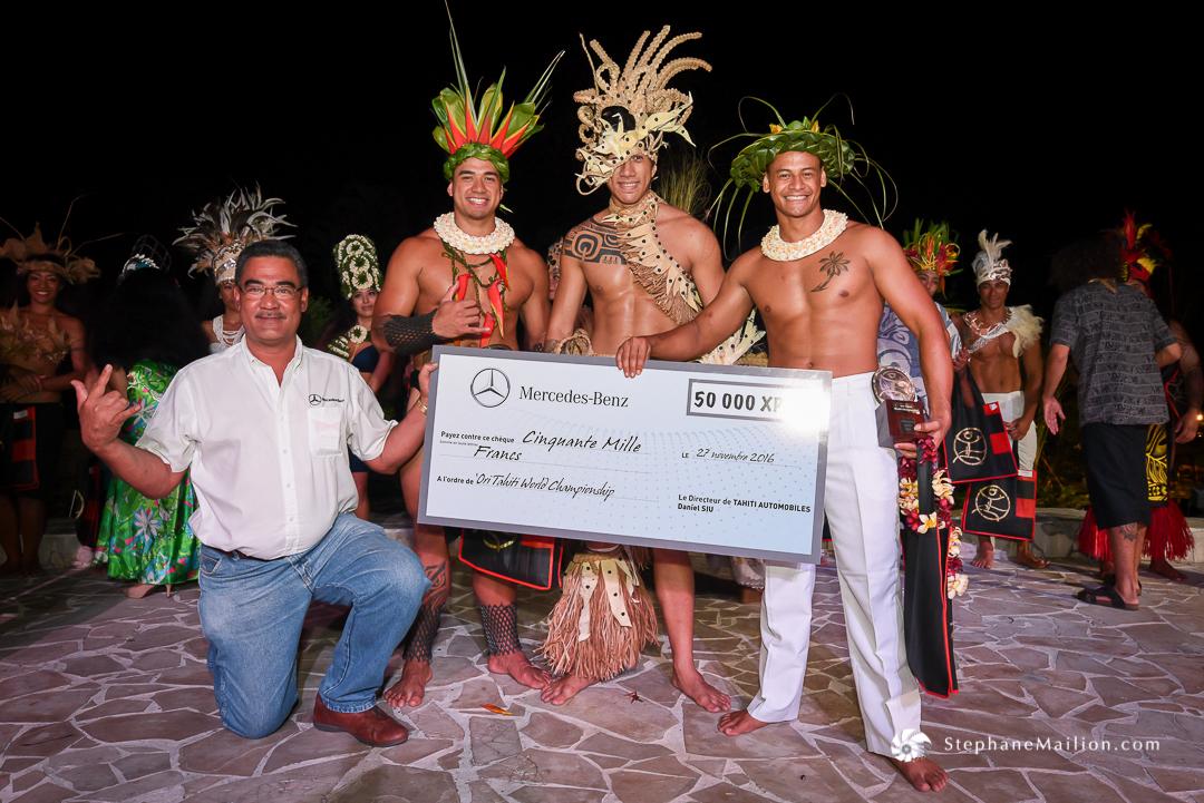 'Ori Tahiti Nui : deux Polynésiens sacrés champions du monde 2016