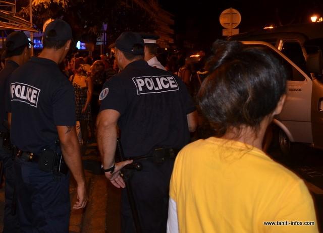 Les policiers ont eu maille à partir avec un ivrogne particulièrement agressif, dans la nuit de samedi à dimanche à Papeete. (Archives)