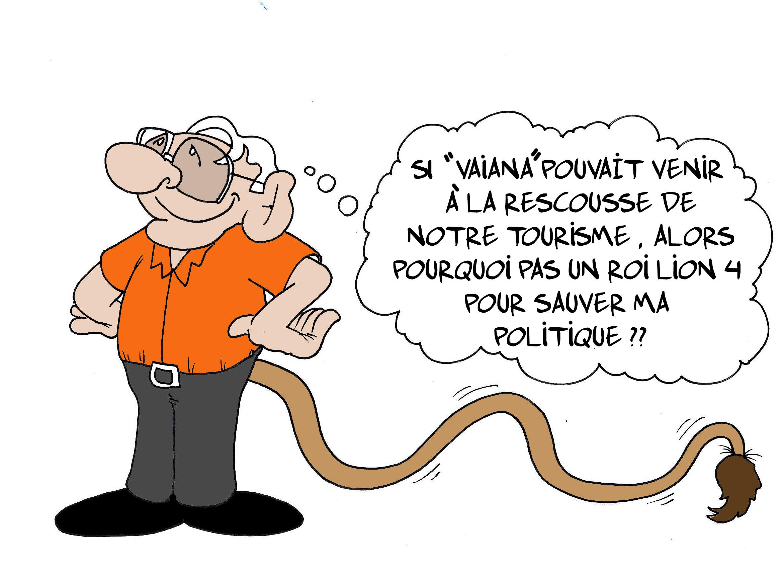 """"""" Le roi lion """" par Munoz"""