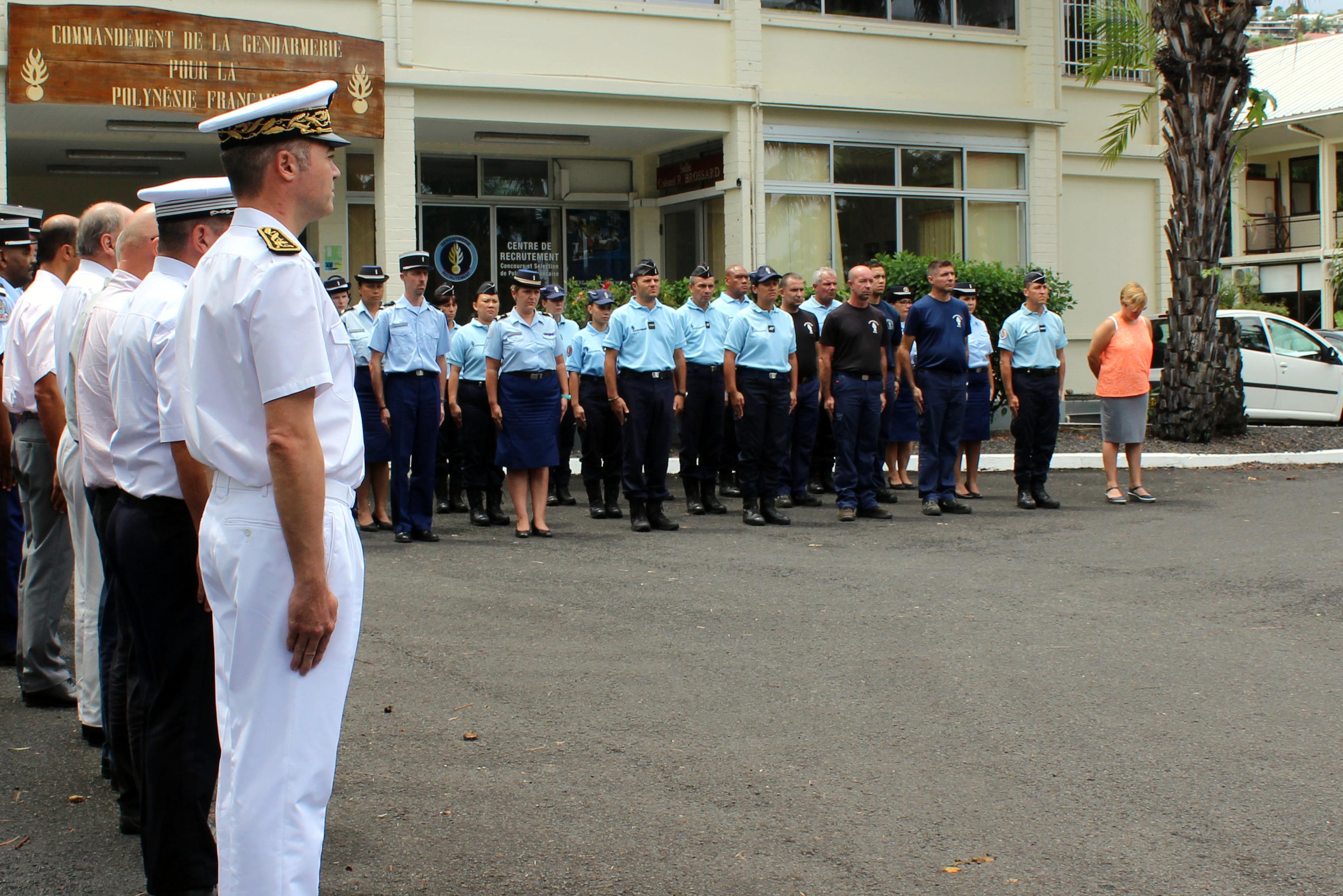 De nombreuses autorités étaient présentes à la cérémonie.