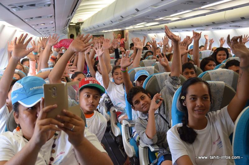 """Un """"Voyage du cœur"""" au-dessus des îles pour plus de 250 enfants"""