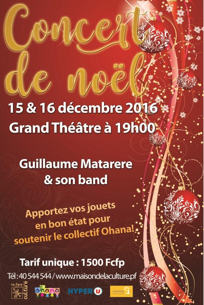 Concert de Noël : Guillaume Matarere et son band chanteront pour les enfants défavorisés