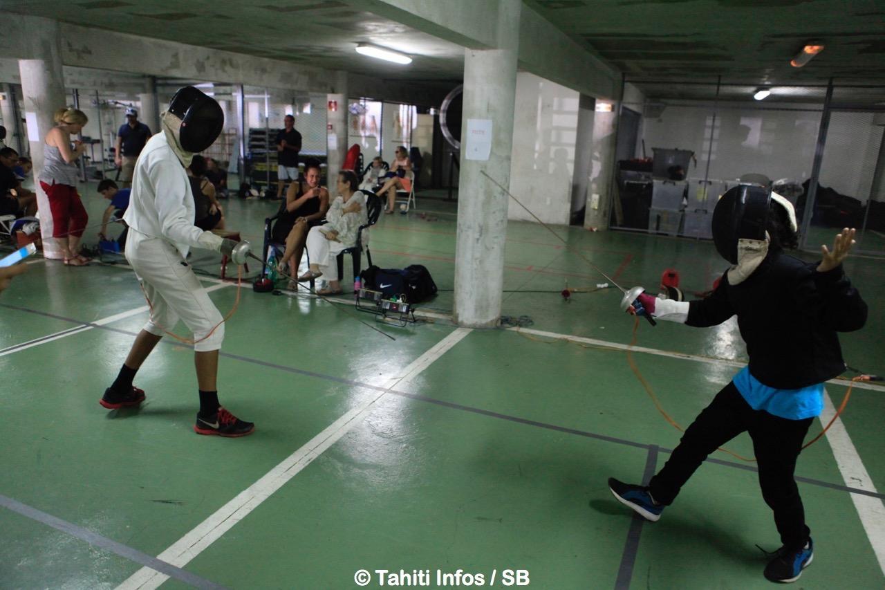 Escrime – Challenge #1 : Des duels intenses mais fair-play