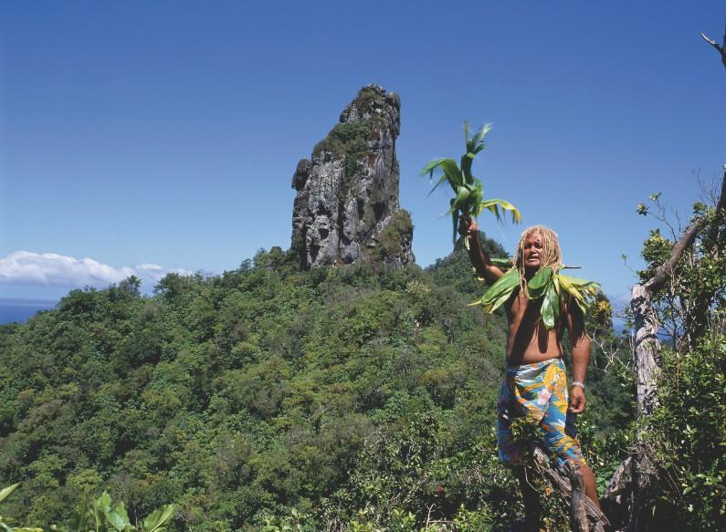 """A Rarotonga, n'hésitez pas à sortir du traditionnel """"tour de l'île"""", la montagne y est très belle."""