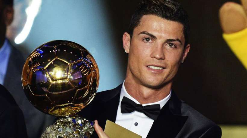 Cristiano Ronaldo remporte le Ballon d'Or 2016