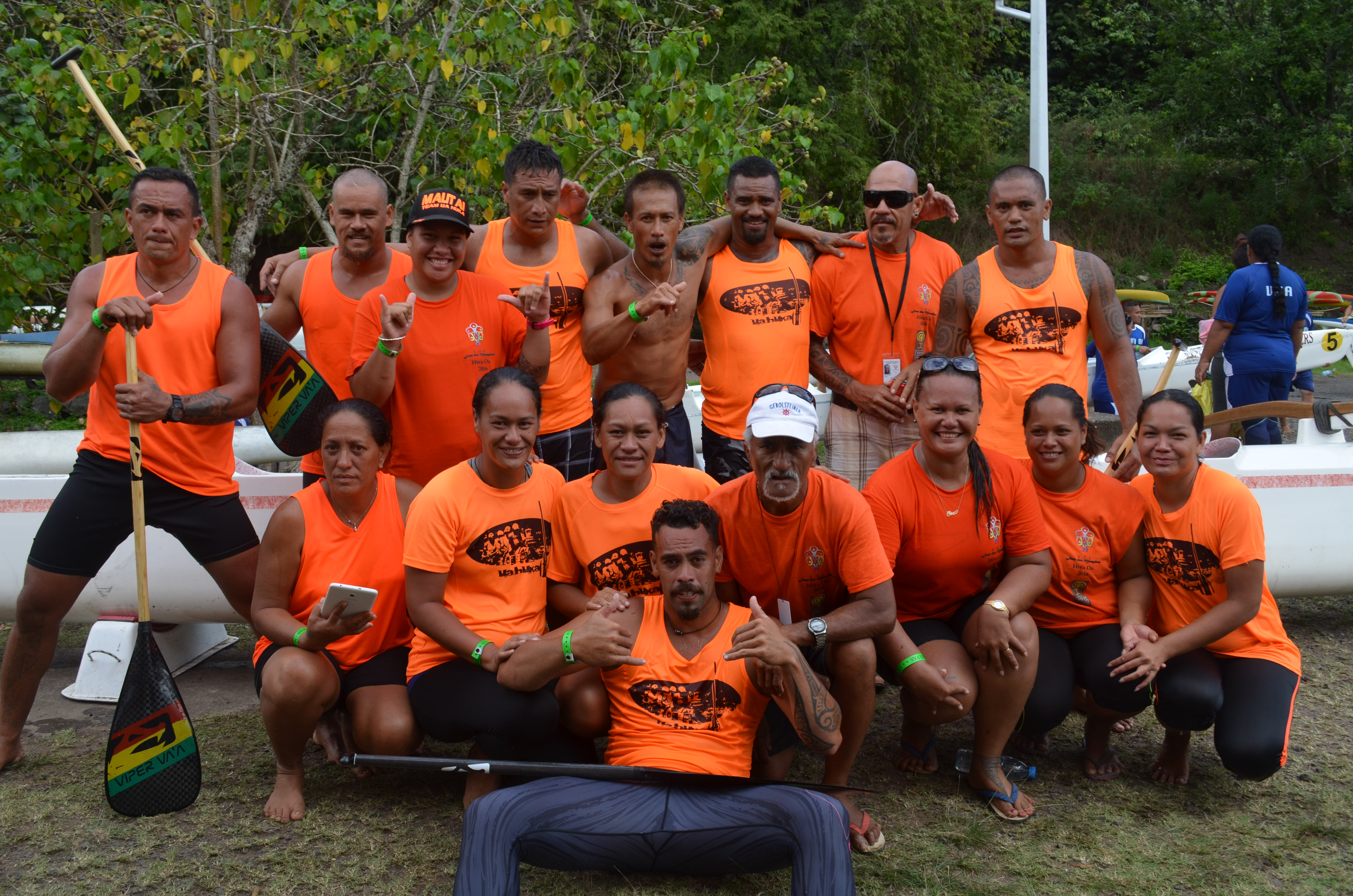 Jeux des Marquises : Ua Huka toujours en tête