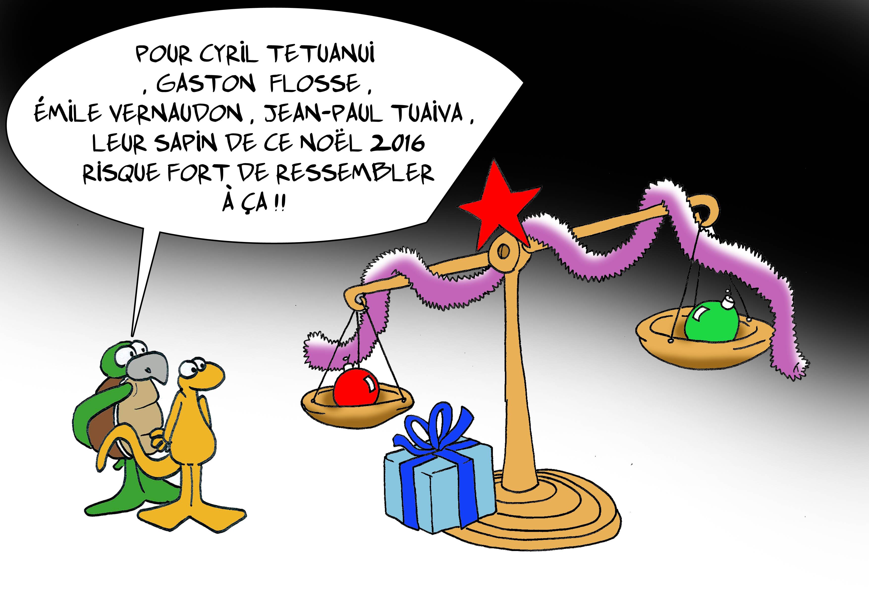 """"""" Le Noël de certains élus """" par Munoz"""