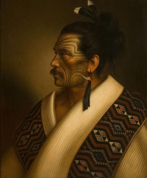 Kamariera Te Hau Takiri Wharepapa, 1895, huile sur toile, Auckland Art Gallery Toi o Tāmaki, don de Mr. H E Partridge, 1915