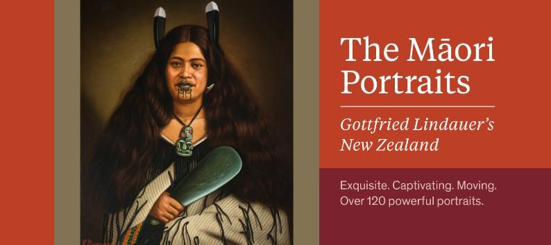 """De nombreux ouvrages rendent hommage au célèbre peintre de Bohême, naturalisé citoyen de Nouvelle-Zélande ; celui-ci, publié à l'occasion de l'exposition Lindauer à la """"Auckland Art Gallery Toi o Tāmaki"""", est sans doute le plus richement illustré."""