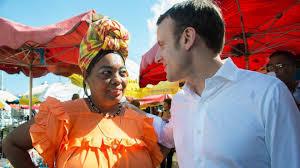 """En Guadeloupe Emmanuel Macron s'engage à """"adapter la norme"""" aux territoires ultra-marins"""
