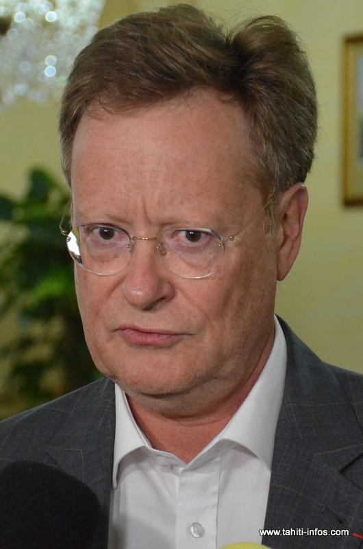 René Bidal, haut-commissaire de la République en Polynésie française.