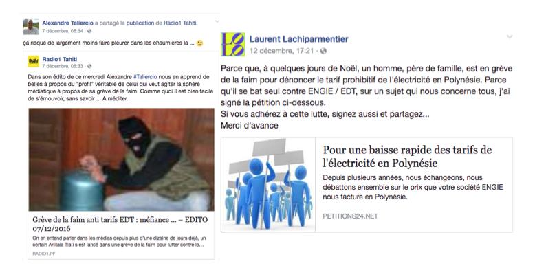 Grève de la faim contre EDT : coup médiatique ou lutte sociale ?