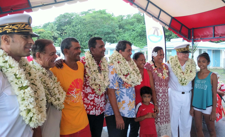 Inauguration de 23 logements individuels à Raiatea