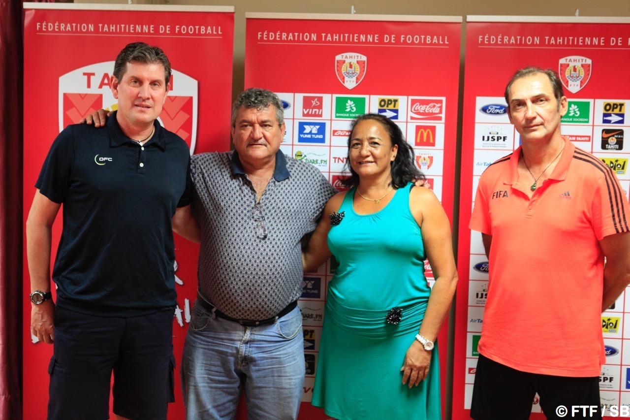 Patrick Jacquemet, Thierry Ariiotima, Moeama Mu, Patrice Flaccadori