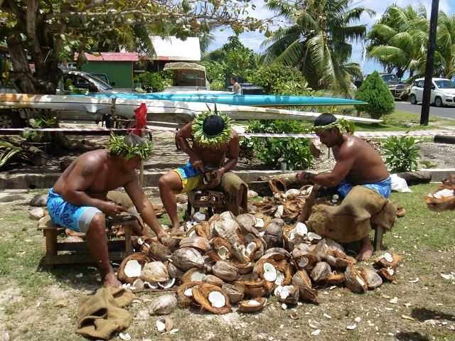 Le groupe de Tauamao.