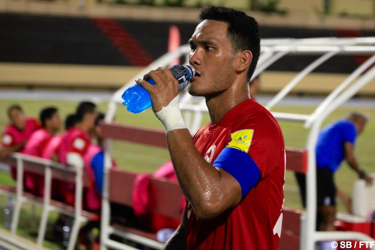 Alvin est également capitaine de la sélection