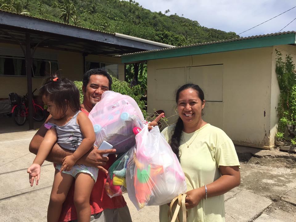 Ohana : les dons sont partis dans les îles