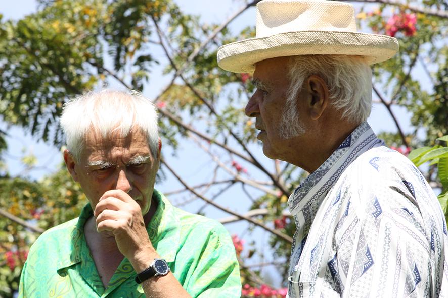 Défenseur des langues polynésiennes, il a aussi mené un combat avec Bruno Barillot pour la reconnaissance des victimes des essais nucléaires. (Photo : Tenahe Faatau)