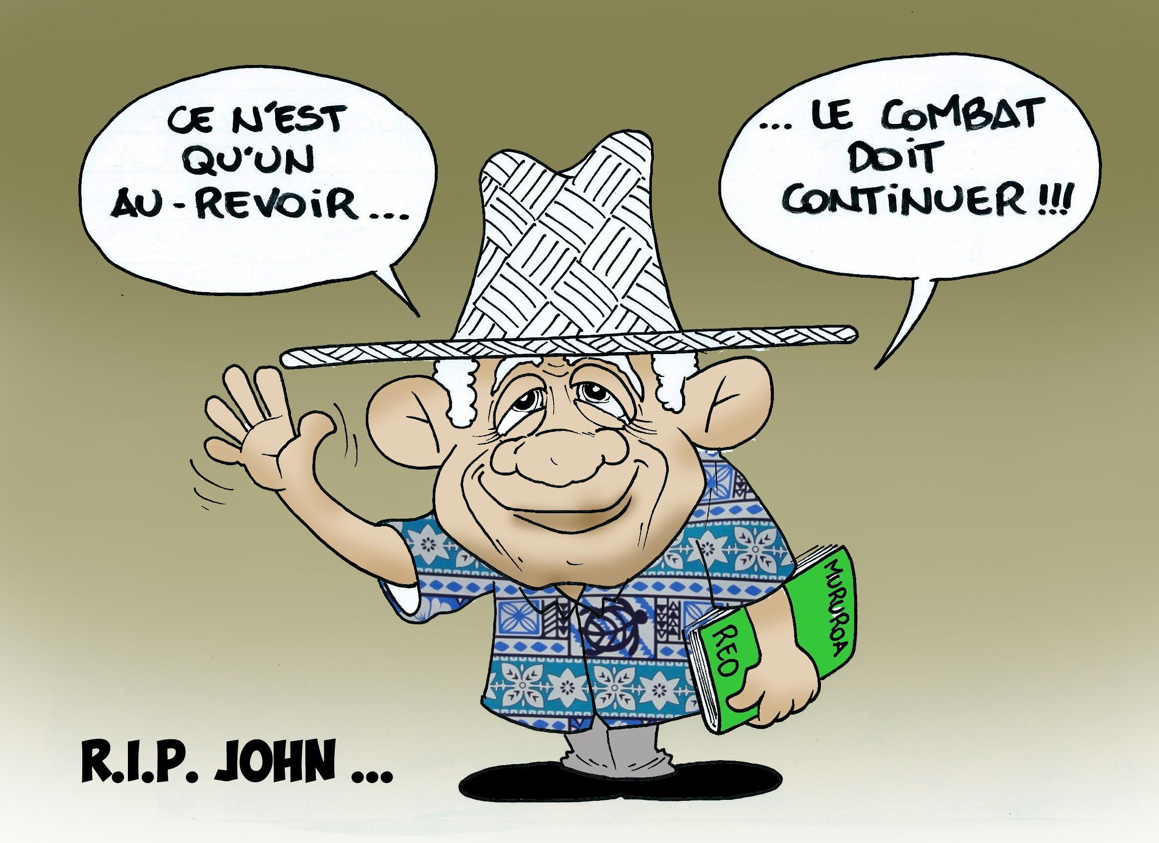 """"""" R.I.P John """" par Munoz"""