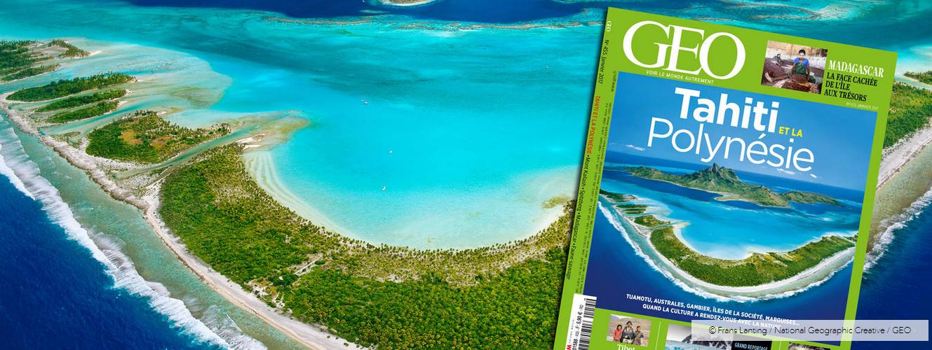 La Polynésie française à la Une du magazine Géo