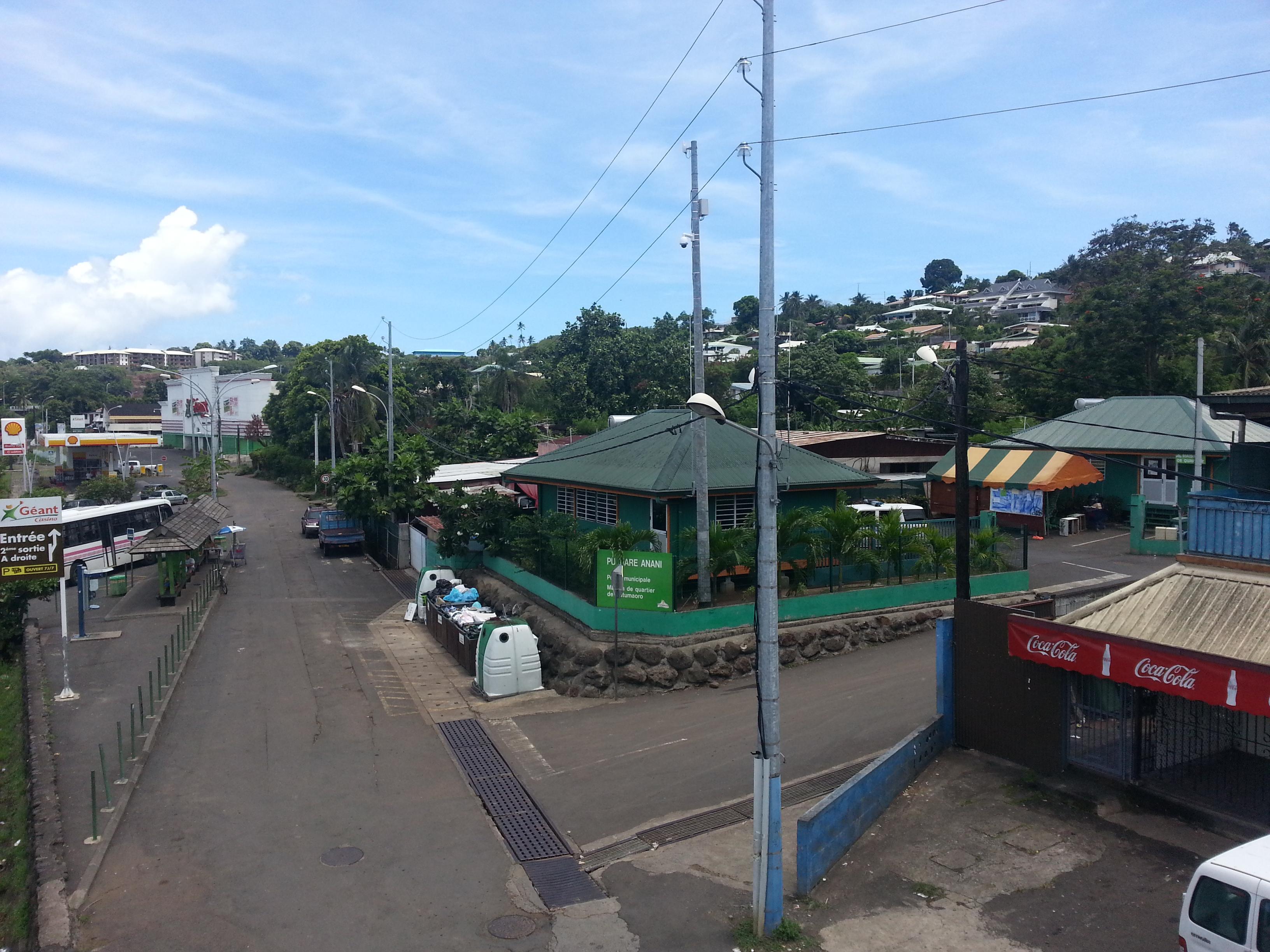 Le drame s'est produit mercredi matin dans le quartier de la station de Outumoro à Punaauia.