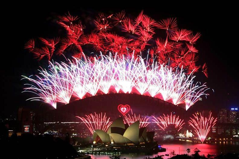 Deux siècles de tradition familiale derrière le feu d'artifice de Sydney
