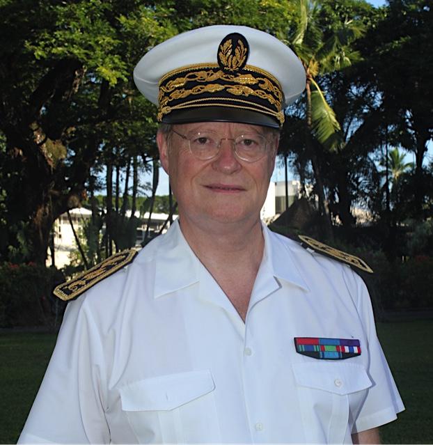 Vœux aux Polynésiens exprimés par le haut-commissaire René Bidal