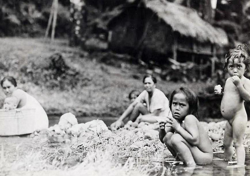 La lessive 1930-1940, Photo Bob Du Pont