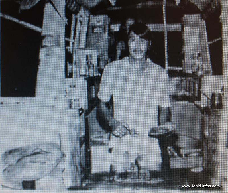 Roland Pansi dans les années 1980.
