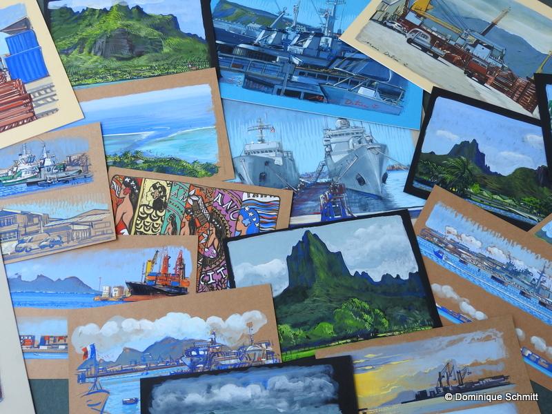 Deux peintres officiels de la Marine exposent leurs œuvres à partir de samedi
