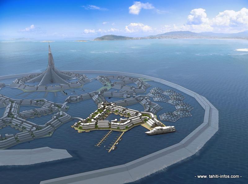 Floating Island Project : Edouard Fritch attendu à San Francisco