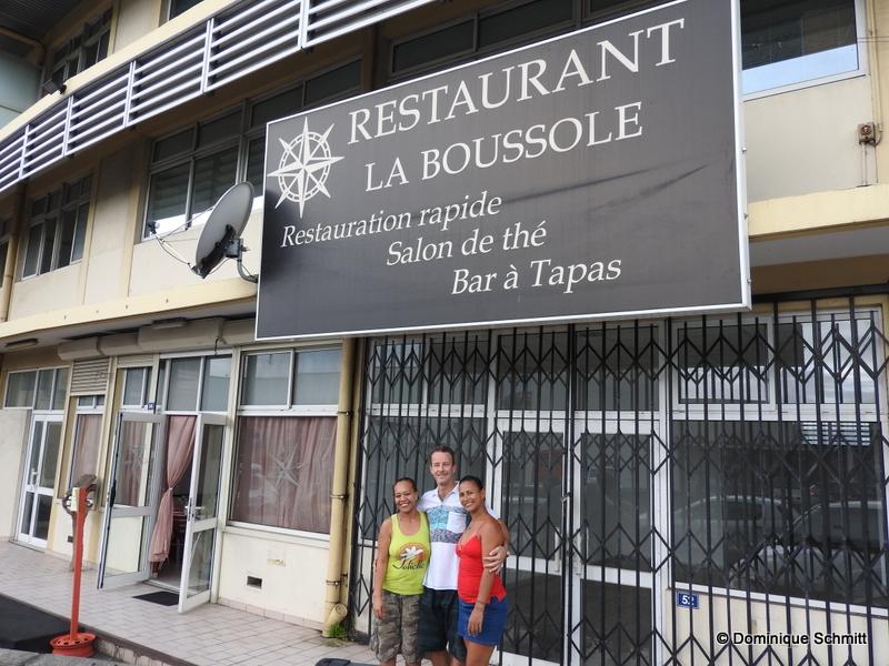 """Vetea Duleux est aux commandes de """"La Boussole"""" depuis 2009."""