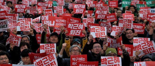 Corée du Sud: nouvelle manifestation contre la présidente