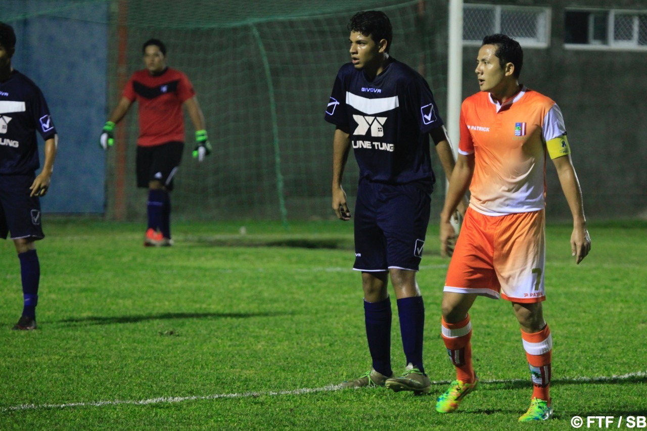 Raimana Li a fait son retour en foot à 11
