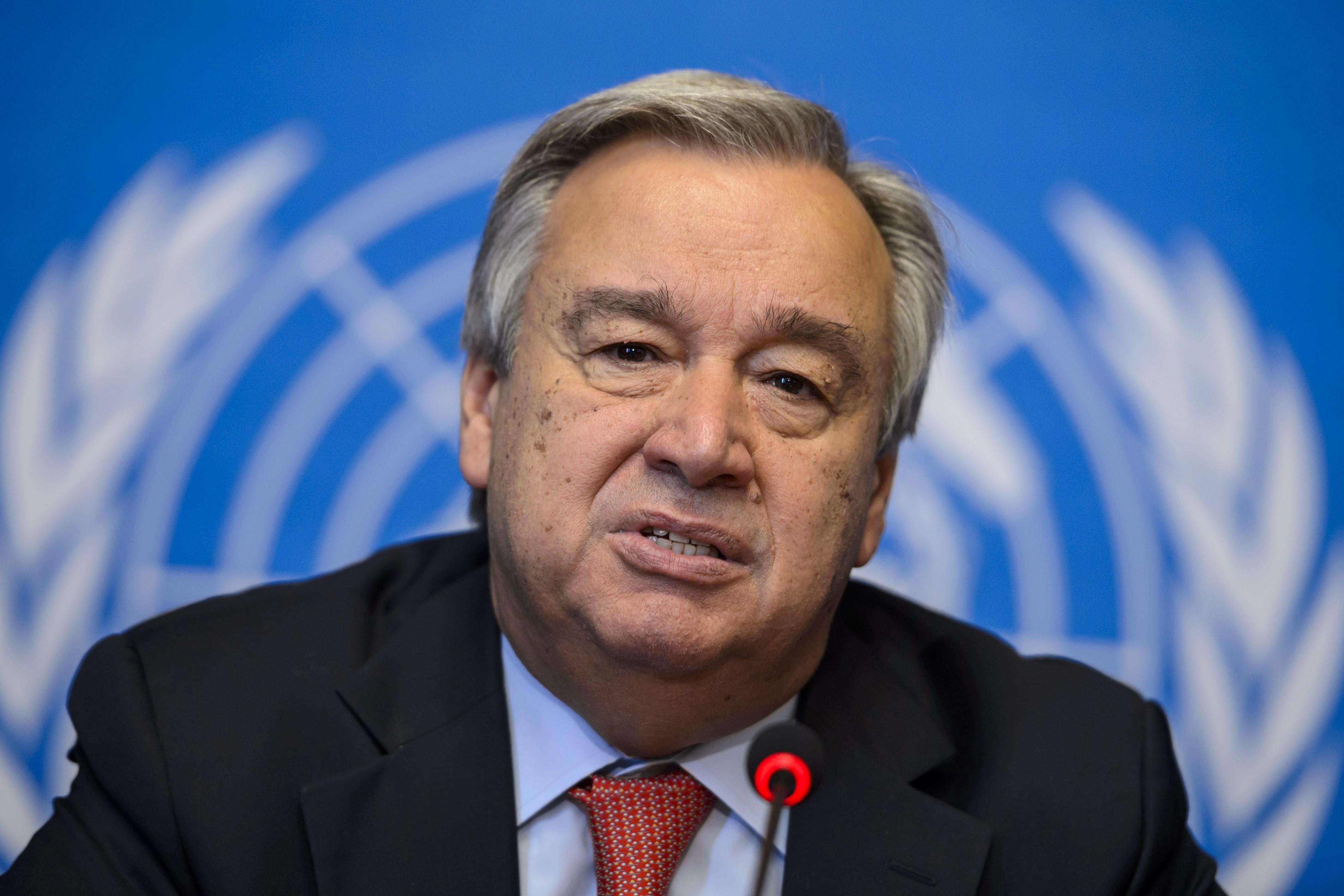 Page enfant : António Guterres remplace Ban Ki-Moon à l'ONU