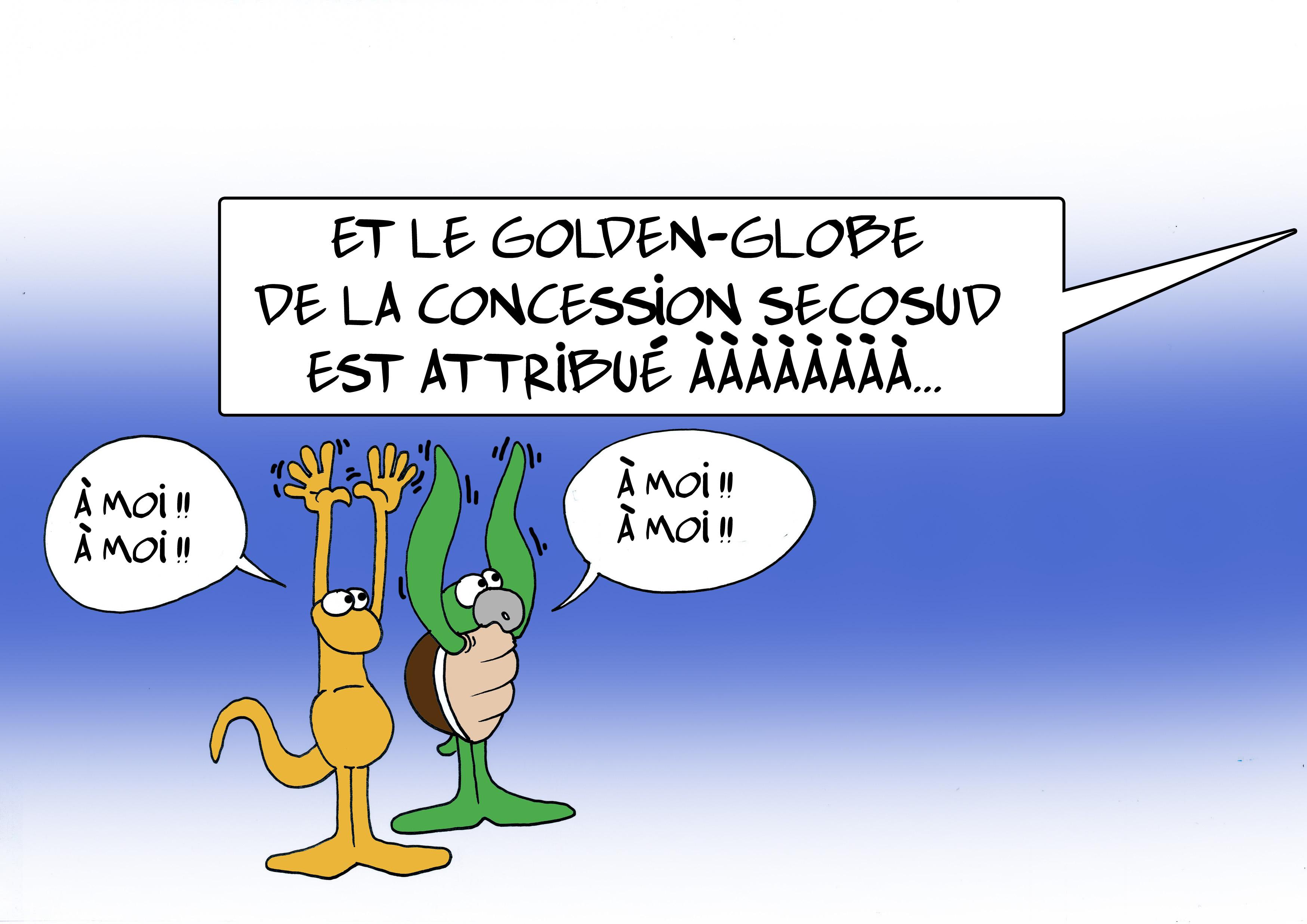 """"""" Le Secosud """" par Munoz"""